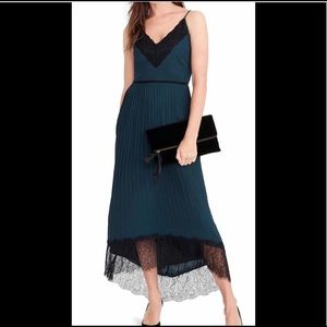 NWOT collection pleated dress-holiday/formal ready